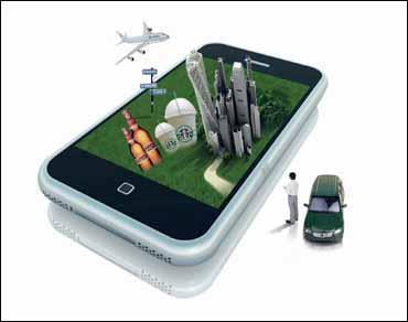 手机�y�_创意消费 手机营销突破小屏幕