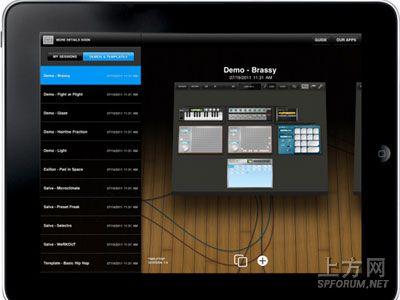 ipad上专业音乐制作软件