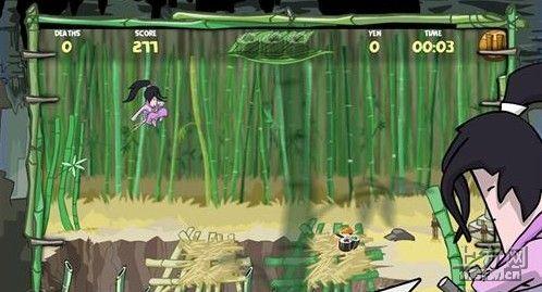 横版卷轴动作冒险游戏《忍者》评测