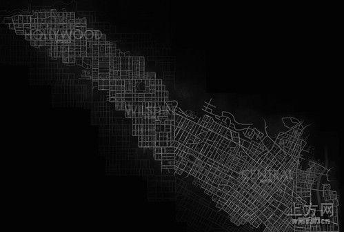 《黑色洛城》地图