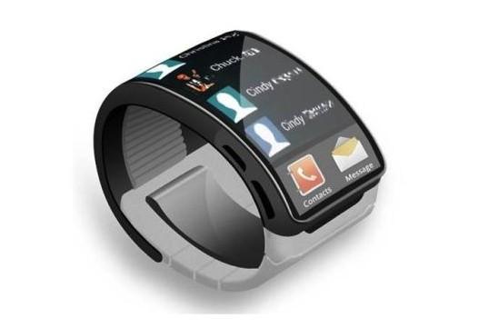 三星galaxy gear智能手表概念设计