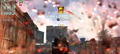ui元素的例子是,以屏幕上的血喷溅作为命值条,如《使命召唤:现代战争2