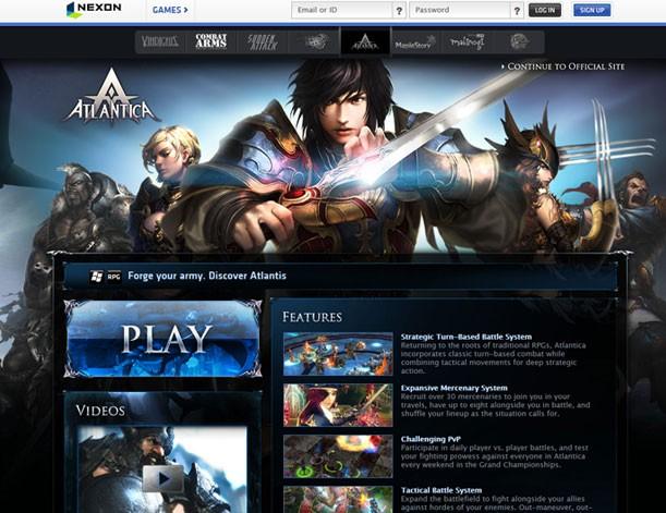 浅谈——韩国游戏网站设计