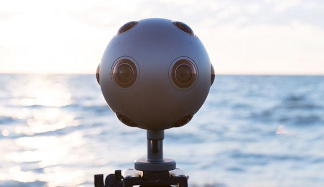 """诺基亚推出可以拍摄虚拟现实视频的""""多眼怪"""":nokia ozo图片"""