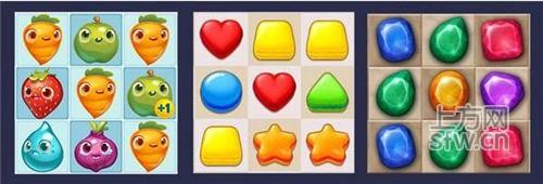游戏的消除元素常常都是动物的头像