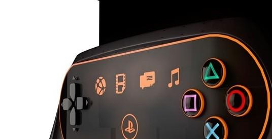 未来科技感十足 playstation5概念设计图主打ar/vr