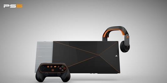 未来科技感十足 playstation5概念设计图主打ar/vr功能