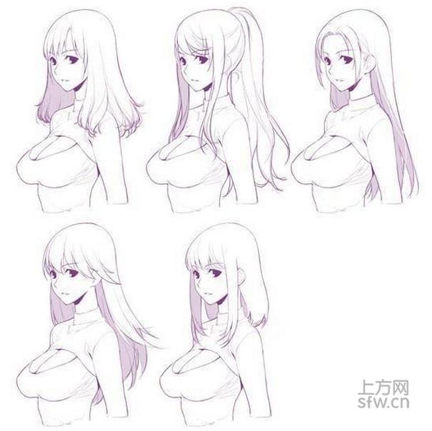 什么体型的萌妹最可爱?vr成人游戏绘画手稿流出