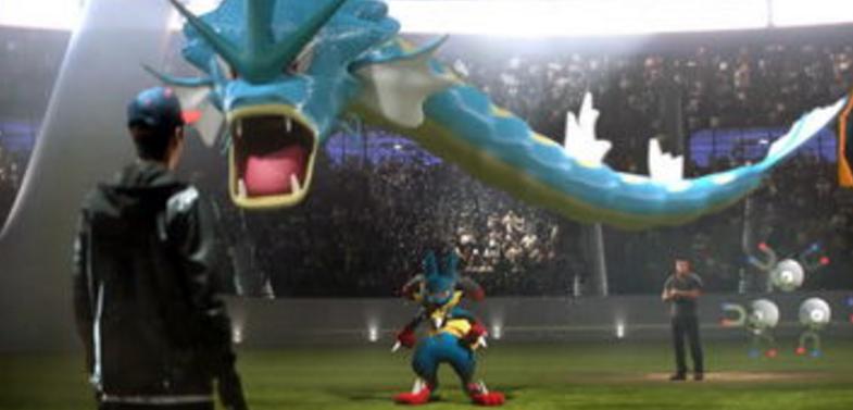 世界归宿:《PokemonGo》风靡视频AR游戏催科技欧盟会议图片
