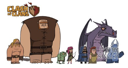 supercell将推出部落冲突动画