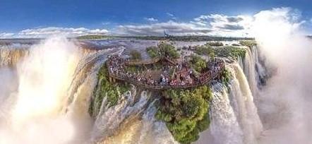 壁纸 风景 旅游 瀑布 山水 桌面 442_204