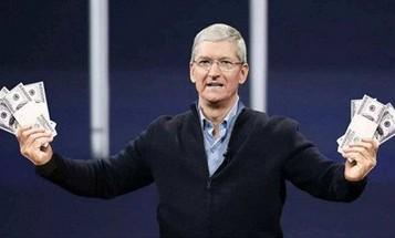 """苹果""""抽水""""抽到库克都笑了!强制抽成半年狂赚49亿美元"""