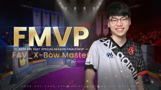X-Bow Master拿下总决赛MVP