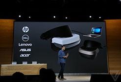 微软发布PC版VR头盔:外观超科幻 299美元起