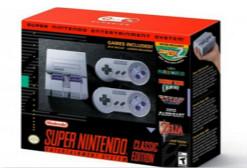 任天堂推出SNES经典版主机 内置21款游戏售价547元