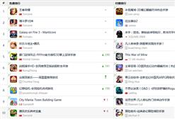 """《榜单东西》:免费榜""""惨遭""""刷榜游戏洗劫 畅销榜《楚乔传》成黑马(6.19-6.25)"""