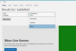 微软宣布Win10 PC商店内可购买Xbox One所有游戏!