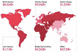 中东手游市场全景分析:ARPPU达270美元