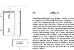 苹果最新专利曝光,为VR头戴设备设计的光学系统