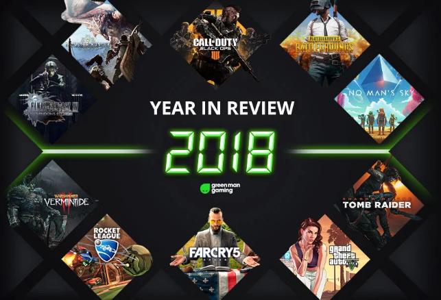 2018年Steam游戏销量TOP10榜单:《怪物猎人:世界》《绝地求生》强势入围