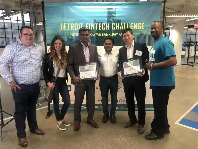 史上首個華人團隊贏得2019底特律金融科技挑戰賽冠軍