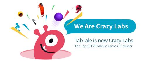 TabTale正式更名为Crazy Labs,任命陈柏安为大中华区总监