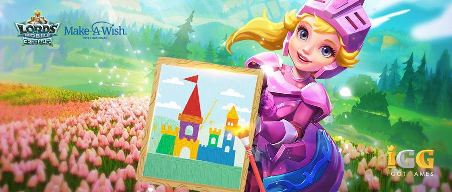 《王國紀元》全球玩家同繪夢想城堡 助力童夢成真