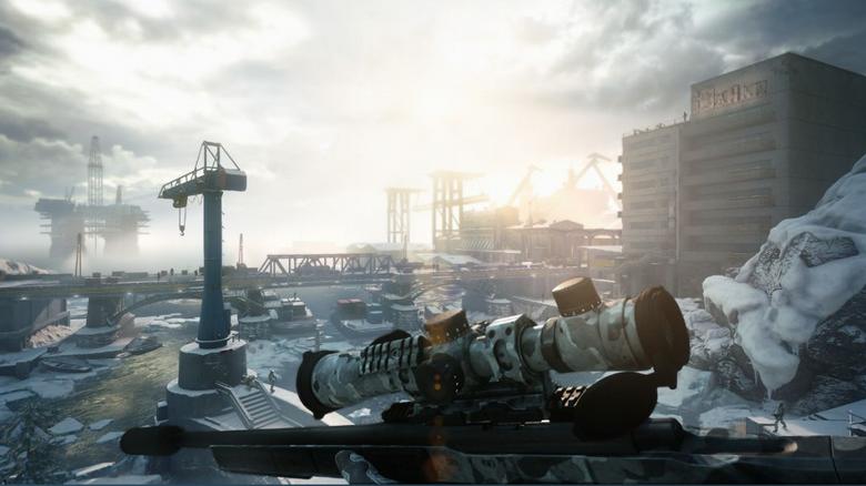 游戲里當狙擊手還得考慮風向和重力?
