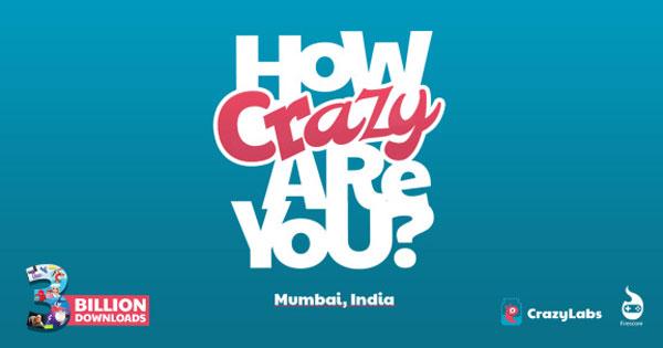 CrazyLabs斥资50万美元打造首家CrazyHub落户印度